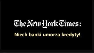 MÓJ NOWO SUBSKRYBOWANY KANAŁ –  New York Times proponuje umorzenie długów. Na razie Czarnym
