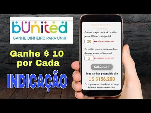 Bunited: Melhor Forma de Ganhar Dinheiro na Internet - $10 por Indicação.