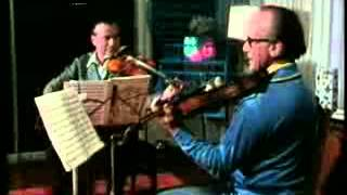 Henryk Szeryng Rehearses/Discusses Mozart Sinfonia Concertante with M.Katims 1 of 3