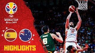 Spain v Australia - Highlights - Semi-Final - FIBA Basketball World Cup 2019