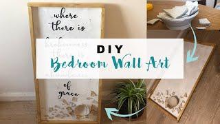 KINTSUGI | JOANNA GAINES Inspired DIY WALL ART VLOG Style