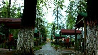 eskişehir yunusemre parkında yağmurlu bir bahar günü