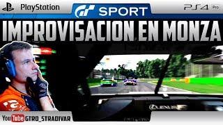 GT SPORT   IMPROVISACION EN MONZA   GTro_stradivar Carrera Online