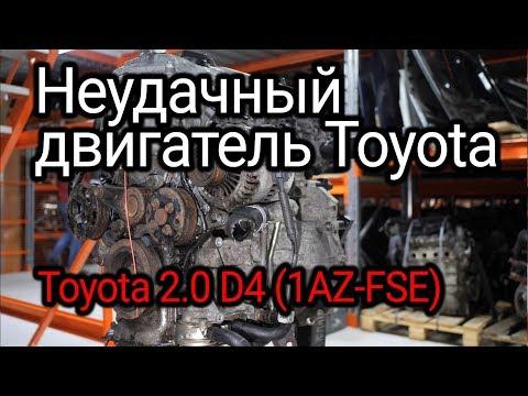 Фото к видео: Непосредственный впрыск в исполнении Toyota. Что не так в двигателе 1AZ-FSE?
