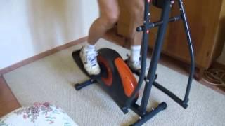 Klarfit Ellifit vélo elliptique (français)