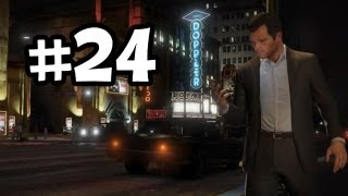 Grand Theft Auto 5 Part 24 Walkthrough Gameplay - Blitz Play Intro - GTA V Lets Play Playthrough
