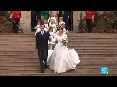 UK Royal wedding: Princess Eugenie marries businessman