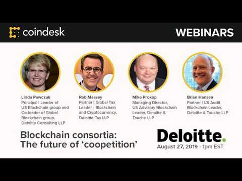 Blockchain consortia: The future of 'coopetition' — Webinar