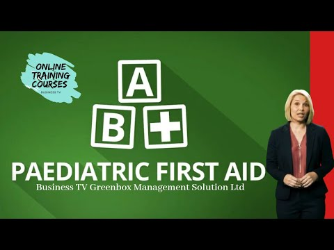 Paediatric First Aid Training Course by CPD - YouTube