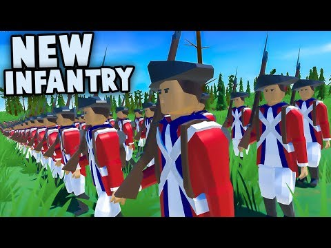 NEW Infantry Units Update, FIX BAYONETS, CHARGE!  (Rise of Liberty Gameplay)