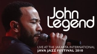 "John Legend ""Used To Love You"" live at Java Jazz Festival 2010"