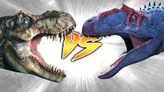 T. rex VS Saurophaganax [Who Would Win?]