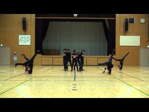 江戸川区立西葛西中学校ダンス部 日本中学校ダンス部選手権全国決勝大会ネタ