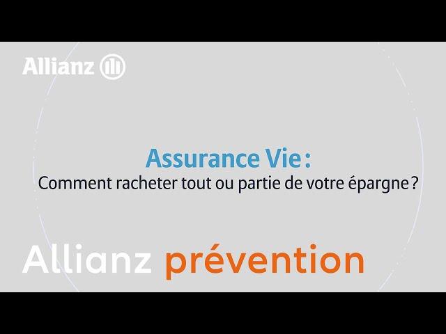 assurance vie racheter épargne