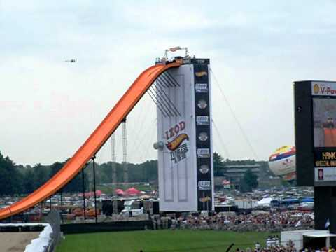 Indy 500 Record Jump