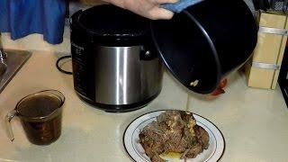 Roast Beef in a Pressure Cooker Cuisinart