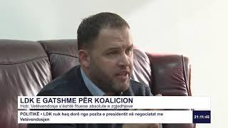 RTK3 - LDK e gatshme për kualicion 06.12.2019