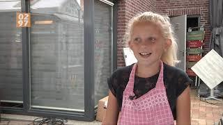 9-jarige Loïs verovert plekje op Mijdrechtse markt met zelfgebakken kipnuggets