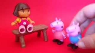 Peppa Pig escucha el cuento de Dora: ¡SUPERPIG!