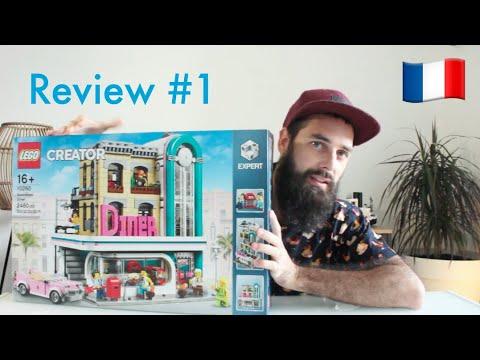 Vidéo LEGO Creator 10260 : Un dîner au centre-ville (Modular)