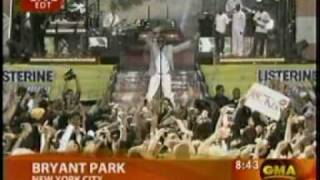 Usher Performing Moving Mountains on Good Morning America