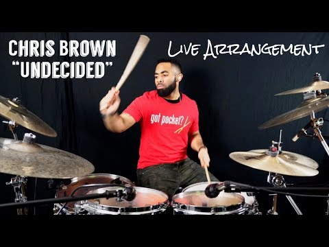 Chris Brown - Undecided (Live Arrangement/Drum Cover) J-rod Sullivan - J - ROD