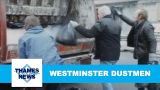 The Dustmen of North Westminster | Thames News Archive Footage