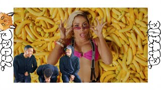 Anitta With Becky G - Banana (REACTION/REVIEW)