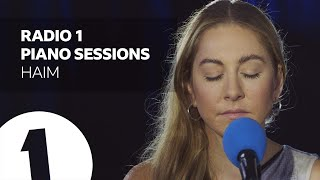 HAIM - Hallelujah - Radio 1's Piano Sessions