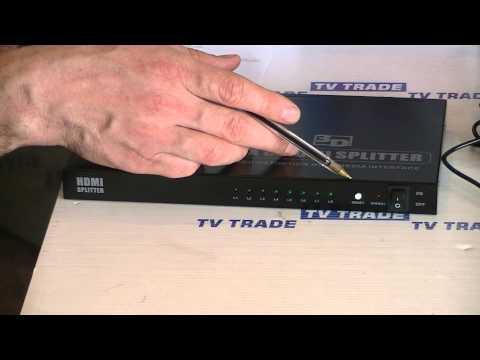 8 Way HDMI Splitter
