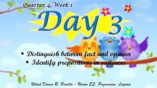 ENGLISH: Q4 WEEK 1 (DAY 3)