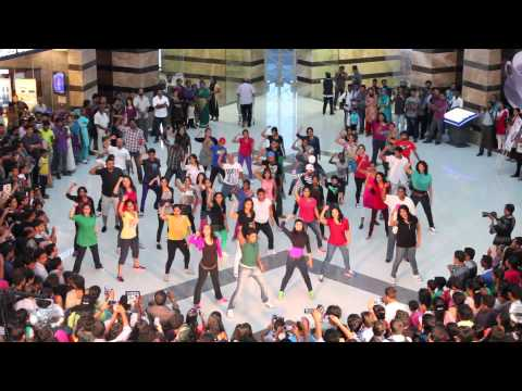 Independence Eve Flashmob at Lulu Mall - Official Video