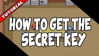 How to get the Secret Key in Pokemon Fire Red