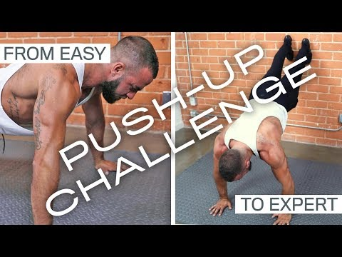50 Push-Up Variations (Workout Challenge)