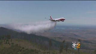 Debate Over Use Of Jumbo Bomber As Wildfires Rage In The West