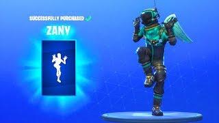 *NEW* ZANY EMOTE DANCE!! Fortnite Battle Royale