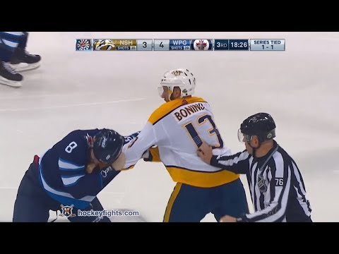 Jacob Trouba vs. Nick Bonino