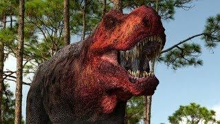 Кровавый Бой Тиранозавров Из Парка Юрского Периода
