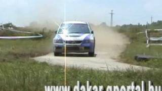 preview picture of video '16. BFGoodrich Veszprém Rally 2009'