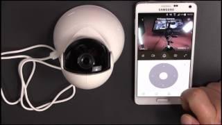 XIAOMI YI Dome Camera - 720p IP Cam mit Verfolgung Überwachungskamera