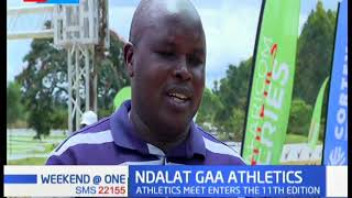 Over 500 athletics to take part in the 11th edition of the  Ndalat GAA Athletics