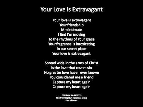 Música Your Love Is Extravagant