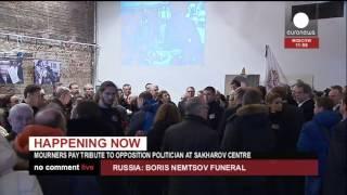 Прощание с Борисом Немцовым (03/03/2015)