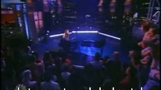 Fiona Apple Parting Gift (live on Ca.rson Show - lyrics on screen)