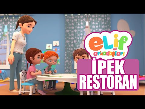 Elif ve Arkadaşları - Bölüm 21 - İpek Restoran - TRT Çocuk Çizgi film
