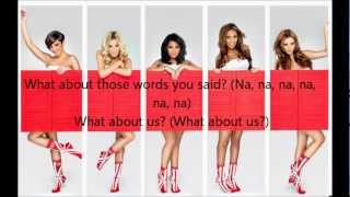 The Saturdays - What about us + lyrics