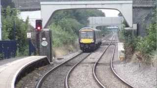 preview picture of video 'Birmingham to Peterborough Line, South Wigston Station 27.08.2012'