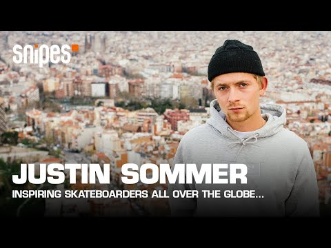 Justin Sommer in the streets of Barcelona