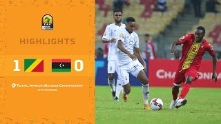 CHAN 2020 | 1er tour – Groupe B : Congo 1-0 Libye