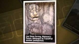 preview picture of video 'Discovering the Lost City Jamieparkins's photos around Anuradhapura, Sri Lanka (ruvanvalisaya)'